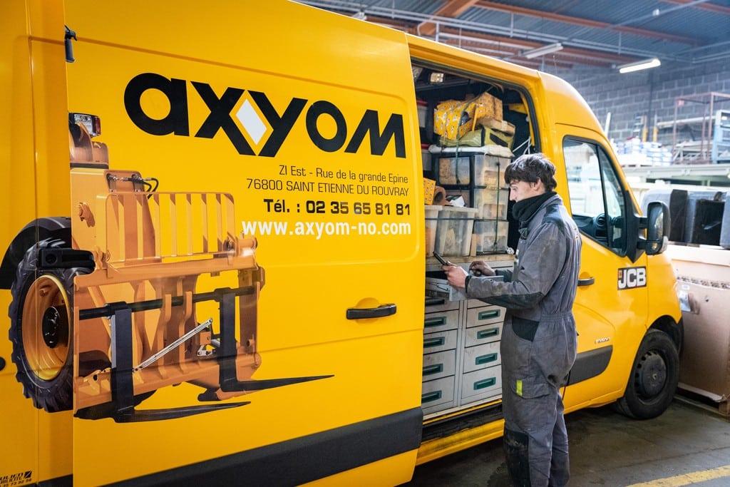 Axyom - communauté web et identité de marque